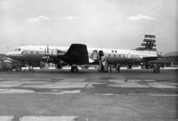 TAI-Transports Aériens Intercontinentaux Douglas DC 6 Aéroport Marseille-Marignane/airline/aviation/aircraft/airport - Aérodromes