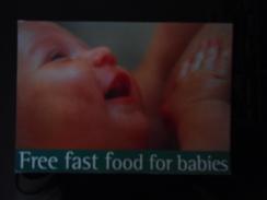 Free Fast Food For Babies Carte Postale - Jeux Et Jouets