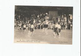 S I  CASTILLON PLAGE  16 MATCH DE BASKET FEMININ 15 AOUT 1933 - Basket-ball