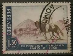 PERÚ 1958 Exposicion Peruana En París. USADO - USED. - Peru