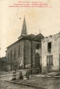WW1 MONT SUR MEURTHE EGLISER - Autres Communes