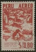 PERÚ 1959 Correo Aéreo. Naturaleza Y Cultura De Perú. USADO - USED. - Peru