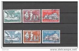 Vatican N°322 à 327 Oblitérés - Oblitérés