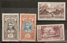 L 'Oceanie Francais De L 'Oceanie French Oceania Petite Small Collection - Oceanië (1892-1958)