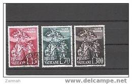 Vatican N°319 à 321 Oblitérés - Oblitérés