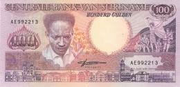 SURINAM   100 Gulden   9/1/1988   P. 133b   UNC - Surinam