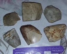 Lot De Haches Polies - Archeologie