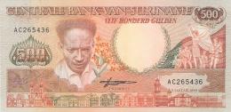 SURINAM   500 Gulden   9/1/1988   P. 135b   UNC - Surinam