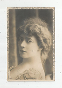 Cp , Spectacle , Artiste , JANE HADING , Dos Simple , Voyagée 1903 - Artistes
