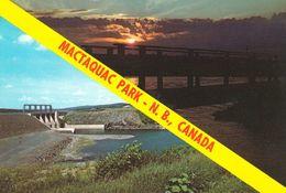 1 AK Kanada New Brunswick * Mactaquac Provincial Park - Dabei Ist Auch Der Staudam, Durch Ihn Entstand Der Park *