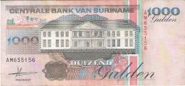 SURINAM   1000 Gulden   1/7/1993   P. 141a - Surinam