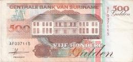SURINAM   500 Gulden   9/7/1991   P. 140 - Surinam