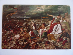 EUROPA TRAUERT - Soldaten Kämpfen Gegen Die Kriegsfurie - Zeppelin -  FROBENIUS  BASEL - KEB - Oorlog 1914-18