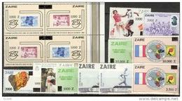 COB 1420/33 Commemoratifs Surcharges-Gelegenheidszegels Overdrukt-overprint 1991  MNH - 1990-96: Ongebruikt