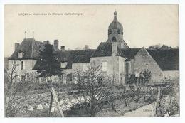 Urçay - Habitation Du Marquis De Fontanges - Autres Communes