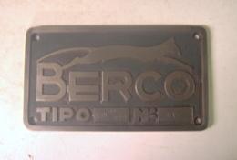Padova - Berco  Et Cie  - Plaque  Machine - Outil - Strumenti