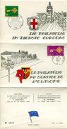 VR 721 La Philatélie Au Service De L'Europe  8° Expo Franco - Allemande à Fribourg 1969 Oblitération Poste Aux Armées Et - Zone Française
