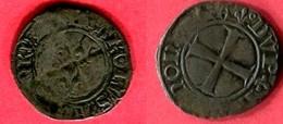 DENIER   (D 251)   TB 30 - 1380-1422 Charles VI Le Fol