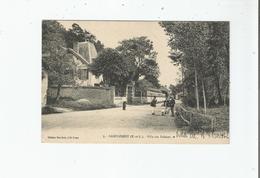SAINT PREST (E ET L) 3 VILLA DES FALAISES (FACTEUR ET PETITE ANIMATION)  1916 - Autres Communes