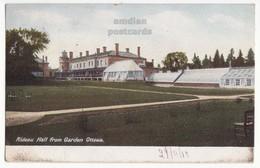 OTTAWA Ontario Canada, Rideau Hall View From Garden, Governor House, C1905 Vintage Postcard - Ottawa