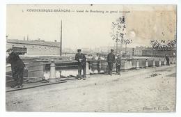 Coudekerque-Branche - Canal De Bourbourg Au Grand Tournant - Coudekerque Branche