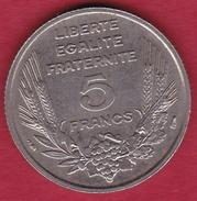 France 5 Francs Bazor - 1933 - SUP - France