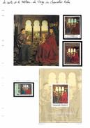 La Carte Et Le Tableau - Van Eyck - La Vierge Au Chancelier Rolin - Religious