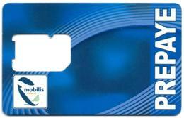 ALGERIE ALGERIA GSM SIM Card MOBILIS Without Chip - Carte Support SIM - SIM-Karte Ohne Chip Tarjeta SIM Sin Chip - Algeria