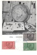 France - 1er Jour FDC  - UNESCO - 1966 - PARIS - FDC