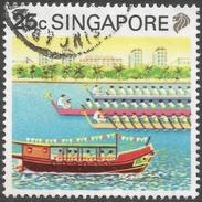 Singapore. 1990 Tourism. 25c Used. SG 627 - Singapore (1959-...)