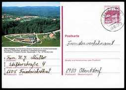 80601) BRD - Bildpostkarte P 138 P7/90 - OO Gestempelt - 60Pf Rheydt, 7831 Freiamt, Kurhaus, Landschaft - BRD