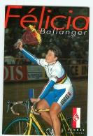 Félicia BALLANGER, Championne Du Monde. Cyclisme Féminin. 2 Scans. Vendée U - Cycling