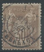Lot N°35646  N°69, Oblit Cachet à Date De LYON LES TERREAUX - 1876-1898 Sage (Type II)