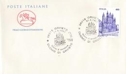 1997 ITALIA - 05 DUOMO DI ORVIETO - FDC CAVALLINO - ANNULLO ORVIETO - 6. 1946-.. Repubblica