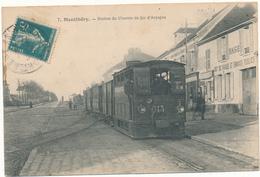 MONTLHERY - Station Du Chemin De Fer D'Arpajon - Tramway - 2 Scans - Montlhery