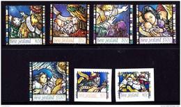New Zealand 1996 Christmas Set Of 5 + Self-adhesives MNH - New Zealand