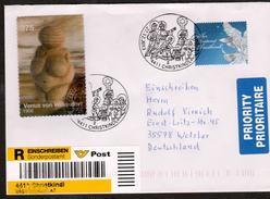 """Österreich 2013: REKO/Brief """"Christkindl"""" Mit LZ + Venus V.Willendorf (siehe Foto/ Scan) - 2011-... Brieven"""