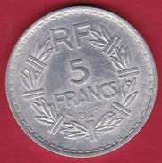 France 5 Francs Lavrillier Aluminium - 1947 - France