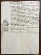 MANOSCRITTO NOTARILE DEL 3 AGOSTO 1796  CON SPLENDIDO TABELLIONATO : Molti Nominativi E Vari Luoghi - Manoscritti