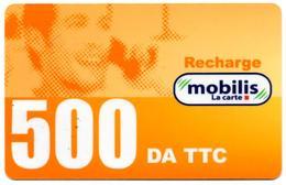 Phonecard Télécarte MOBILIS Algérie Algeria - Telefonkarte - Tarjeta Telefonica - Tarjeta Telefonica - Algeria