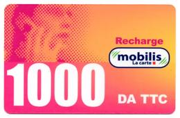 Phonecard GSM Télécarte MOBILIS Algérie Algeria - Telefonkarte - Tarjeta Telefonica - Tarjeta Telefonica - Algeria
