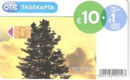 Greece-Tree/Trivizas 10 Euro ,tirage 50.000,01/2011,used - Greece