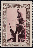 1938 Australia 150th Anniversary Cinderella Stamp  SWORDFISH MONTAGUE ISLAND NSW