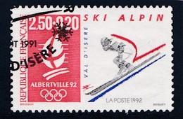 - A. 1991 - OBL.- Y.T. N° 2710 -  SKI ALPIN - France