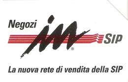 *ITALIA - SIP: NEGOZI IN SIP* - Scheda Usata (variante 352a) - Italy