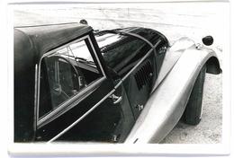 PHOTO AUTOMOBILE MORGAN DECAPOTABLE VUE LATERALE FORMAT 18/12 ORIGINALE NO COPY - Automobiles