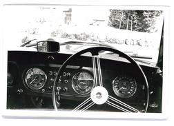 PHOTO AUTOMOBILE MORGAN DECAPOTABLE VUE INTERIEURE FORMAT 18/12 ORIGINALE NO COPY - Automobiles