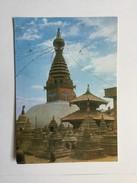 AK   NEPAL  SWOYAMBHU - Népal