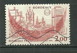 FRANCE Oblitéré 2316 Bordeaux - Gebraucht