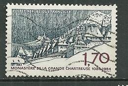 FRANCE Oblitéré 2323 Monastère De La Grande Chartreuse Isère - Gebraucht